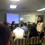 Guam dancers meet with San Diego State University API group in 2013