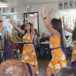Guam dancers perform for the San Diego manamko'