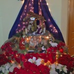 The traditional bilen is the focus of the Treltas' home during the Christmas season.